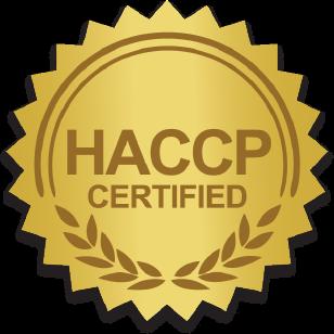 Aardoom is HACCP gecertificeerd